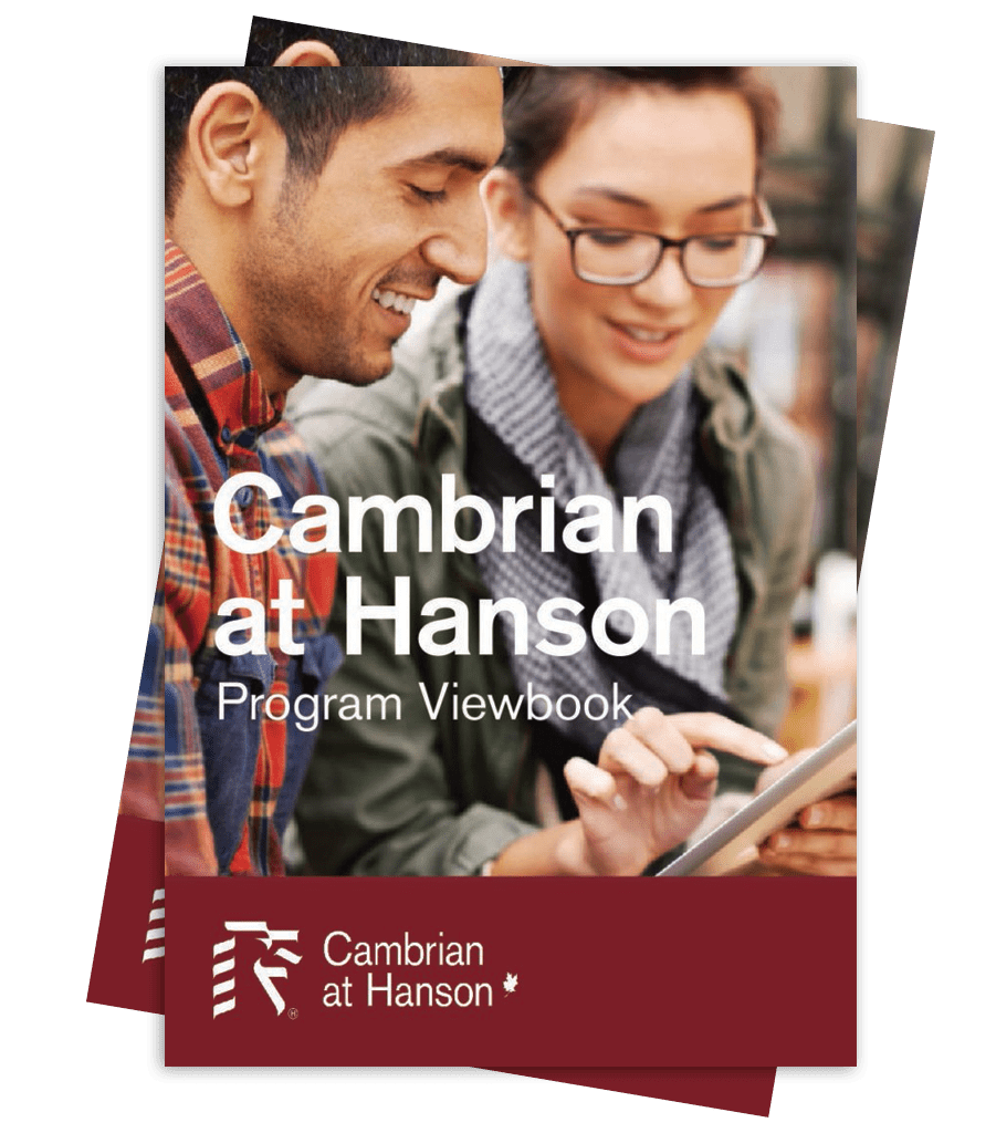 Cambrian at Hanson program viewbook