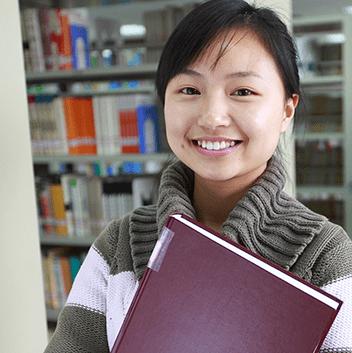 Hanson College student smiling