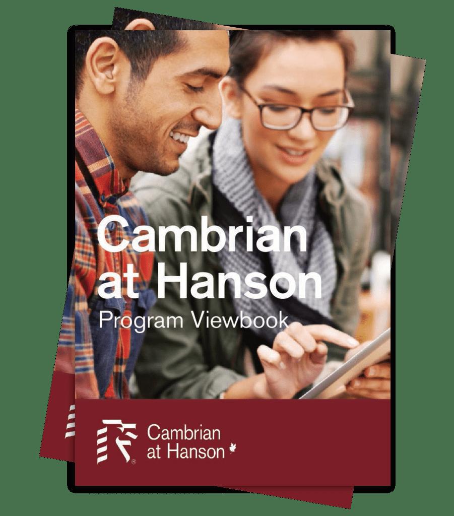 Cambrian at Hanson program viewbook