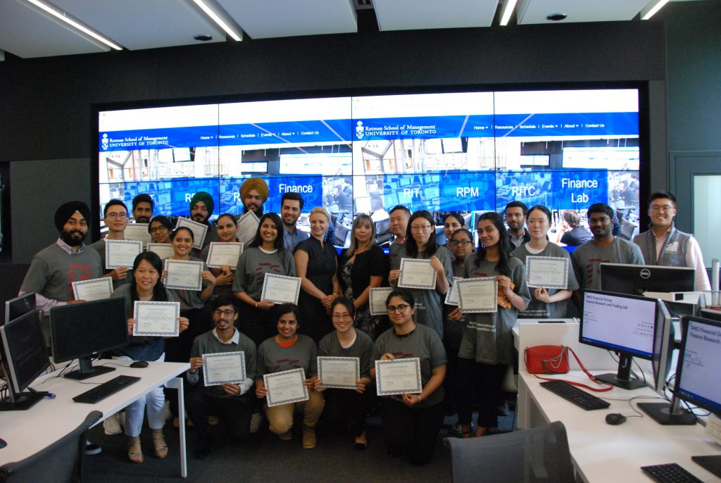 Hanson College attends Rotman's 5th Anniversary Interactive Trader Competition