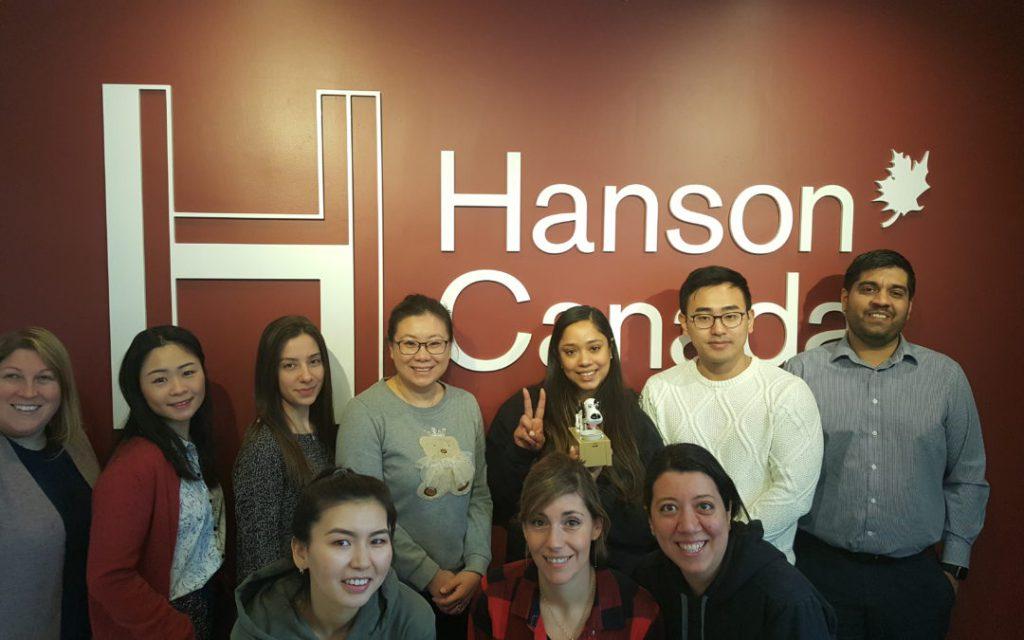 Hanson College's team taking part in Dress Down Fridays