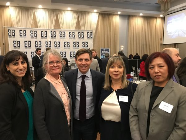 Hanson Education Group's Staff at the State of the City Luncheon
